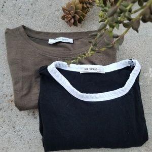 Zara / T-Shirt Bundle Size Small